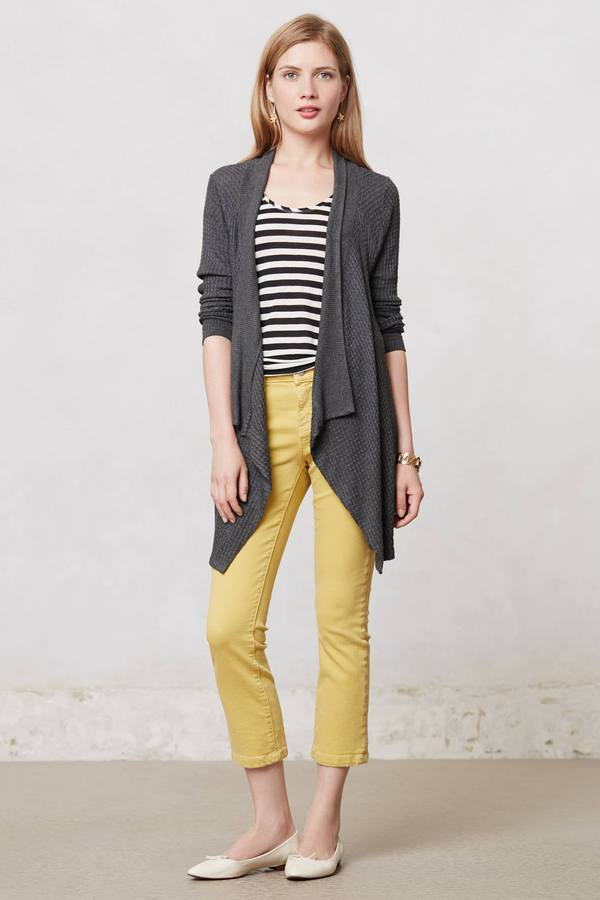 Anthropologie Thermal Knit Cardi