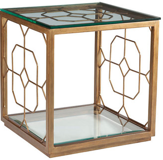 Artistica Honeycomb Side Table - Renaissance Gold