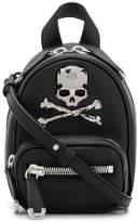 Philipp Plein skull embellished mini backpack