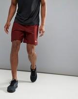 Nike Running Dri-Fit 7 Shorts In Burgundy 885285-619