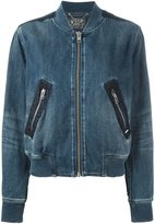 Diesel denim bomber jacket