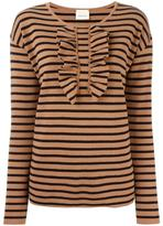 Circus Hotel striped jumper - women - Cotton/Merino - 44