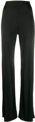 NO KA 'OI High-Rise Flared Trousers