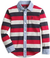 Brooks Brothers Boys' Rugby-Stripe Button Down