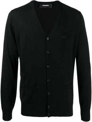 DSQUARED2 Chest Pocket Cardigan