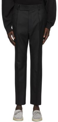 Fear of God Ermenegildo Zegna Black Wool Slim Trousers