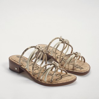 Jazzie Strappy Slide Sandal