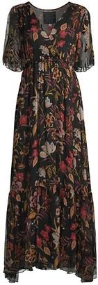Johnny Was Sucre Silk Maxi Dress