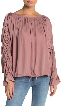Do & Be Ruched Blouse