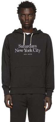 Saturdays NYC Black Ditch Miller Standard Hoodie