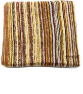 2 Chic Striped fringe scarf