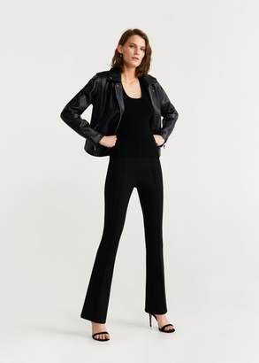 MANGO Biker jacket black - XXS - Women