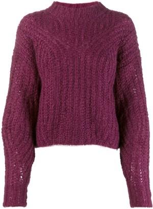 Isabel Marant Knitted Mohair Blend Jumper