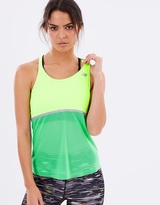 New Balance NB Ice Hybrid Tank in Neon
