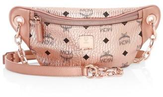 MCM Mini Essential Visetos Original Belt Bag