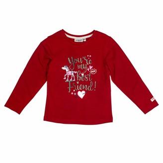 Salt&Pepper Salt and Pepper Girls' Cool & Crazy Best Friend Glitterprint Longsleeve T-Shirt