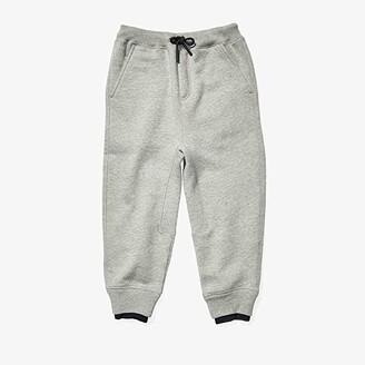 BURBERRY KIDS Fabbio Pants (Little Kids/Big Kids) (Grey Melange) Boy's Casual Pants