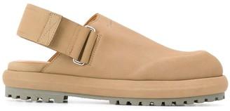 Jacquemus Logo Embossed Slingback Shoes