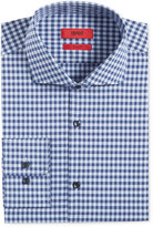 HUGO BOSS HUGO Men's Slim-Fit Light Blue Check Dress Shirt