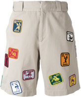 Palm Angels Kamasutra shorts - men - Cotton - 50