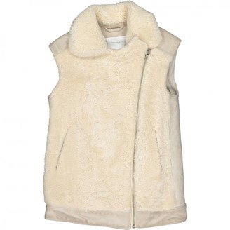 Surface to Air Beige Suede Jacket for Women