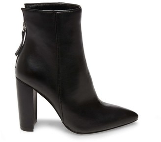 Steve Madden Trista Black Leather