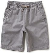 First Wave Big Boys 8-20 Pull-On Twill Shorts