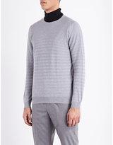 John Smedley Ladsun Striped Knitted Jumper