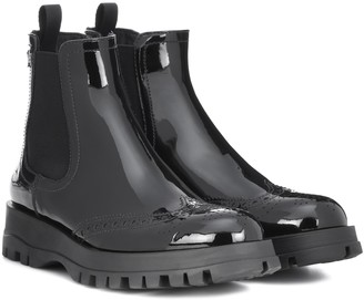 Prada Patent leather ankle boots