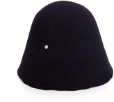 Maison Michel Jin fur-felt cloche hat