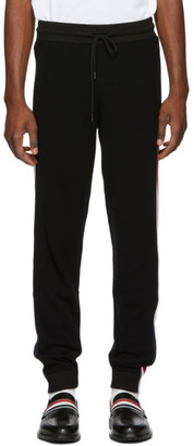 Moncler Black Wool Lounge Pants