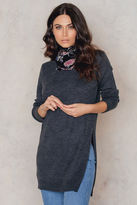 NA-KD Side Slit Knitted Sweater