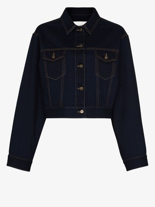 Valentino Cropped Denim Jacket