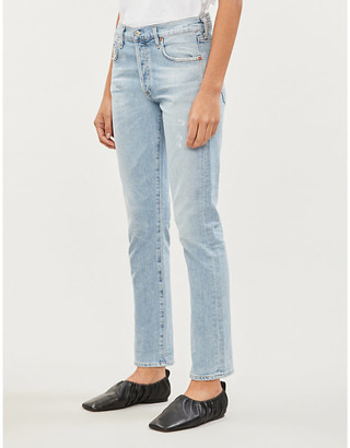 Citizens of Humanity Emerson straight-leg mid-rise jeans