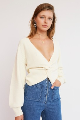 Finders Keepers ESTE KNIT Ivory