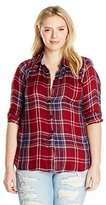 Lucky Brand Women's Plus-Size Bungalow Flannel