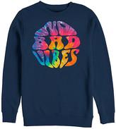 Chin Up Apparel Women's Pullover Sweaters NAVY - Navy 'No Bad Vibes' Sweatshirt - Women & Plus