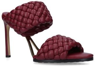 Bottega Veneta Leather Lido Sandals 90