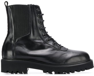 Karl Lagerfeld Paris x Carine Roitfeld track boots