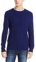 Calvin Klein Men's Textured Crew Neck Sweater