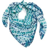Nordstrom Women's Sunglow Dot Silk Scarf