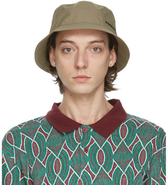 This Is Never That thisisneverthat Beige Gore-Tex Bucket Hat