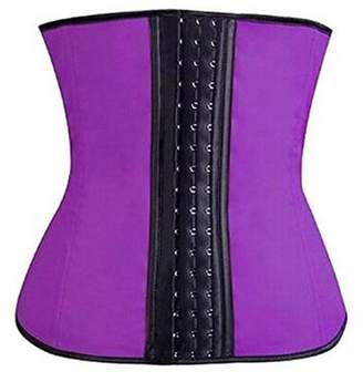Tellsell Celebrity Double Wide Waist Trainer Corset, Purple, XX-Large, 4.5 Ounce