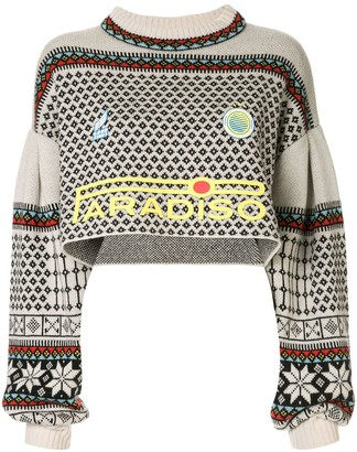 Ground Zero Paradiso cropped knit jumper