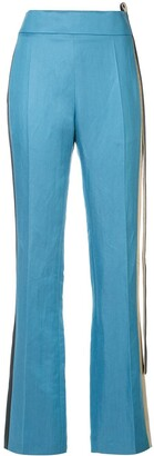 Haider Ackermann band detail trousers