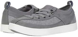 DREW Buzz (Grey Leather/Flannel) Men's Shoes