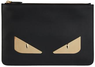 Fendi Black Bag Bugs Pouch