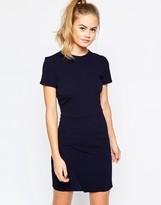 Daisy Street Shift Dress with Wrap Skirt