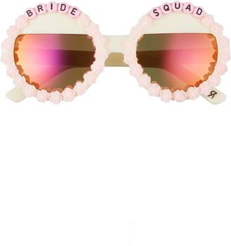 Rad + Refined Bride Squad Round Sunglasses