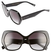 Marc Jacobs Women's 56Mm Sunglasses - Black